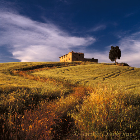House on Hill, Tuscany